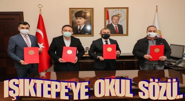 Gürgentepe'ye 8 derslikli okul protokolü imzalandı..