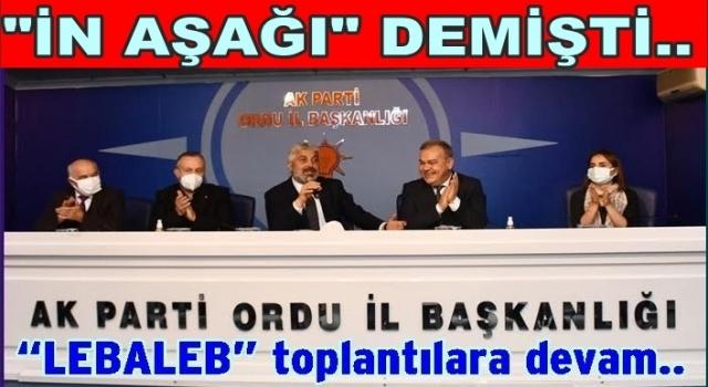 AK Partinin il yönetimi büyük kongreye hazırlanıyor.