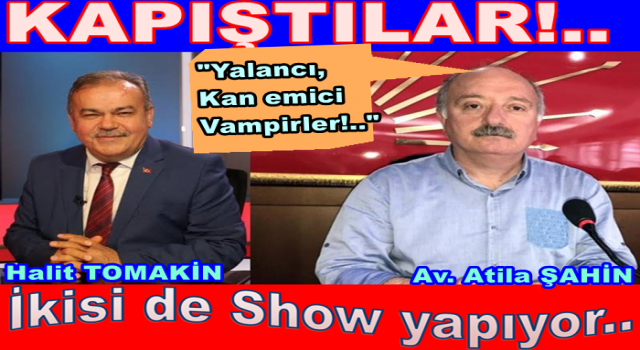 AKP ile CHP Yerel basını enayi yerine koymayın..