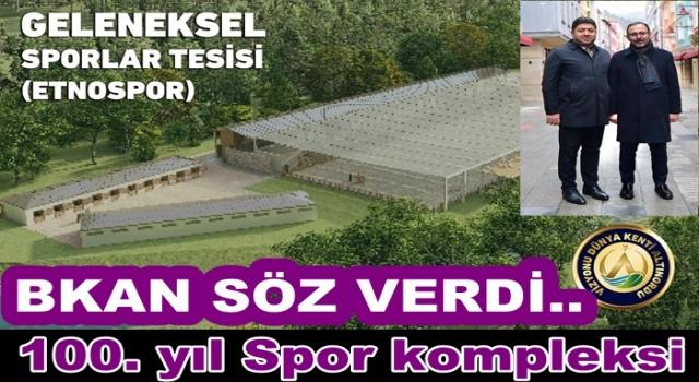 Altınordu'ya Spor tesisleri için ALTIN hamle..