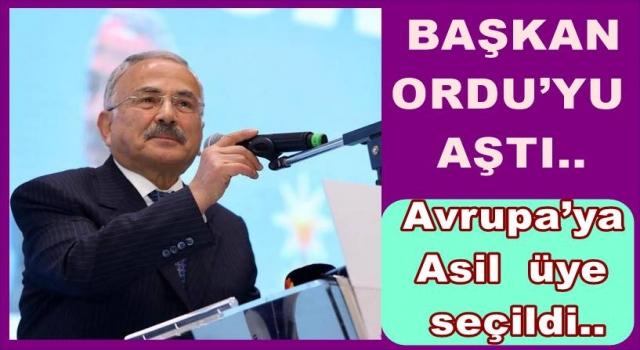 BAŞKAN GÜLER, AVRUPA'DA BİZİ TEMSİL EDECEK..