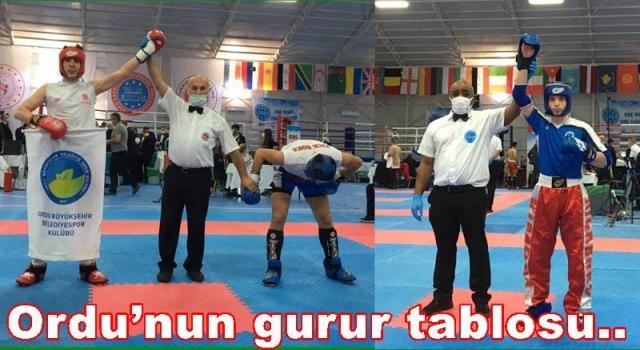 Büyükşehir'in sporcuları madalyaya abone oldular..