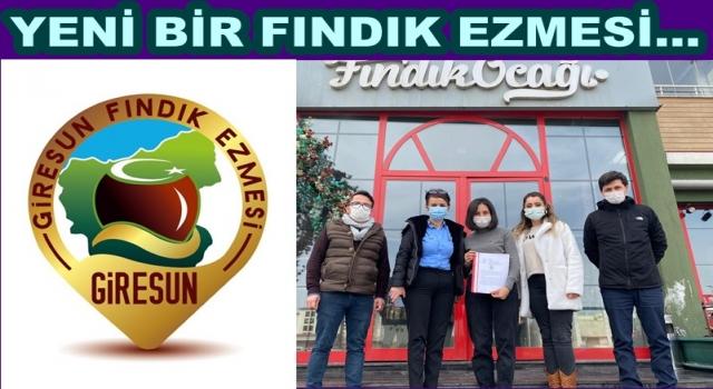 ''GİRESUN FINDIK EZMESİ'' YAKINDA RAFLARDA YERİNİ ALACAK..
