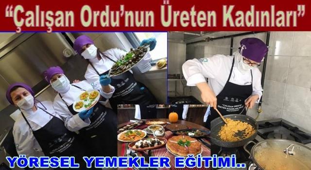 Kadınlar mutfağa girdi, yemek yapma kursuna başladılar