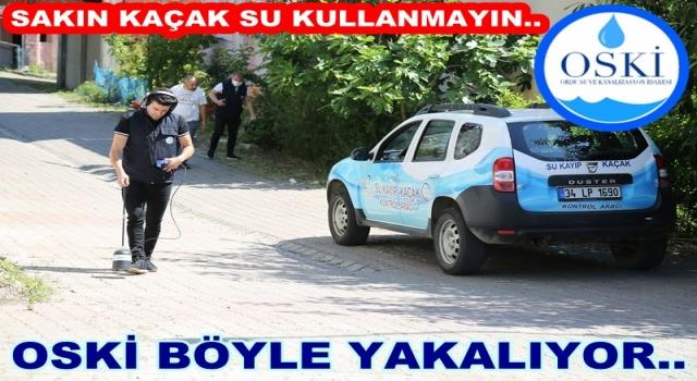 OSKİ aboneleri sakın kaçak su kullanmayın!.
