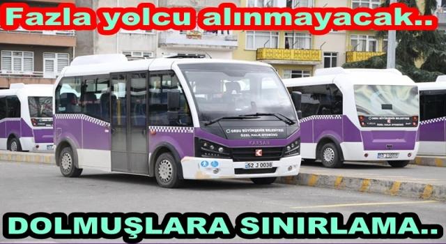 TOPLU TAŞIMADA YÜZDE 50 SINIRLAMA..
