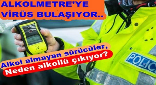 Dezenfektan kullananların trafik kontrolünde alkol etkisi..