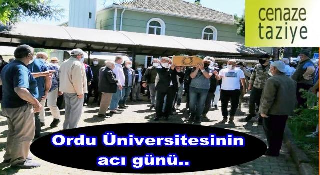 Öğretim üyesi Dr. Hasan Yıldız son yolculuğuna uğurlandı..