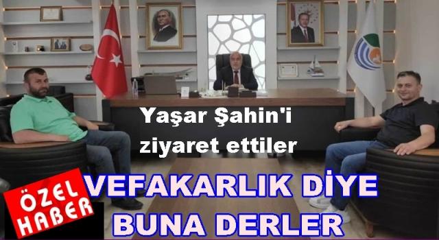 Sedat Duran, Ceza aldığı başkana desteğini sürdürüyor..