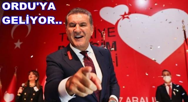 TDP. Genel başkanı Mustafa Sarıgül Ordu'ya geliyor..