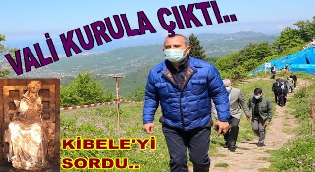 VALİ TUNCAY SONEL KİBELE HEYKELİNİ SORDU!.