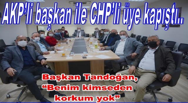 PERŞEMBE BELEDİYE MECLİSİNDE GERGİN OTURUM..