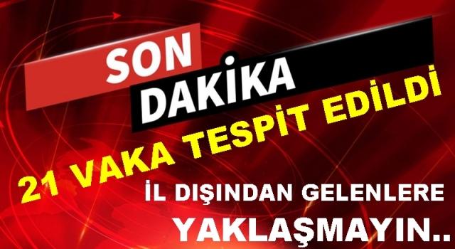 AKKUŞ'TA BİR MAHALLE KARANTİNAYA ALINDI..