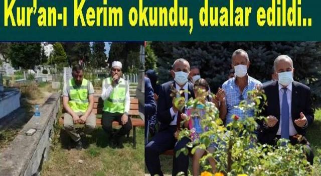 AREFE GÜNÜNDE ŞEHİTLİKLER ZİYARET EDİLDİ..