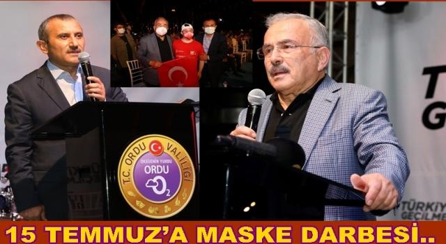 ORDU'DA 15 TEMMUZ DARBESİNE COŞKULU KUTLAMA..
