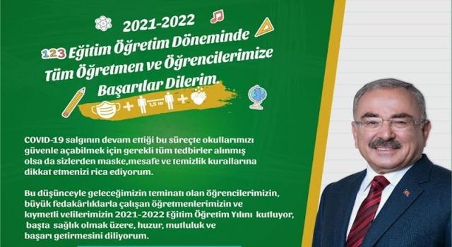Başkan Güler, öğrencilere başarılar diledi..