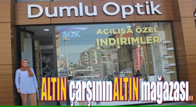 DUMLU OPTİK KARŞIYAKA'DA HİZMETE GİRDİ..