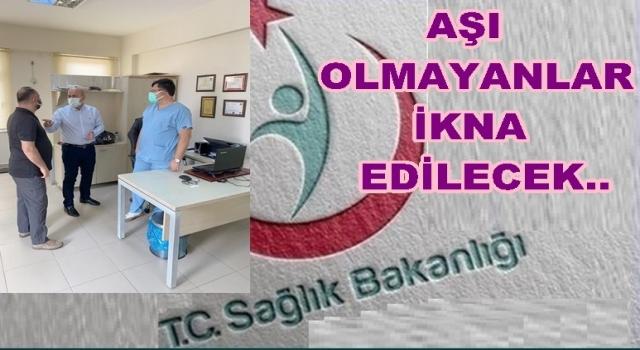 Sağlık müdürü Kasapoğlu Perşembe'yi ziyaret etti..