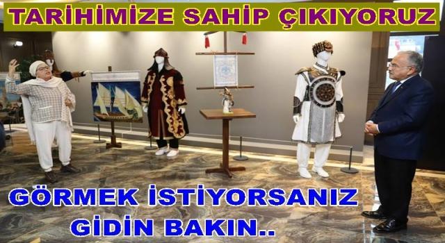 """""""BİR ZAMANLAR SELÇUKLU"""" SERGİSİ AÇILDI.."""