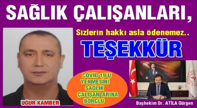ORDU DEVLET HASTANESİ EKİBİNE SONSUZ TEŞEKKÜRLER..