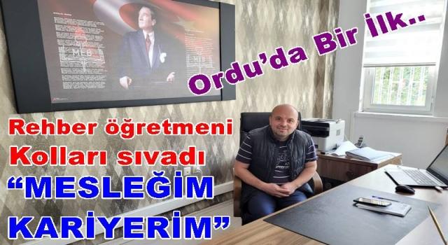 ORDU'DA ÖĞRENCİLERE MESLEK EDİNME PROJESİ.