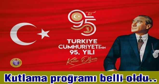 29 Ekim Cumhuriyet Bayramını kutlamaya hazırlanıyoruz.