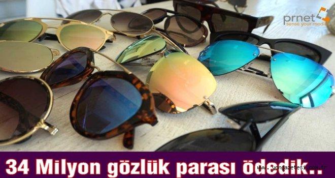 5 YILDA  243 BİN 93 GÖZLÜK İTHAL ETTİK..