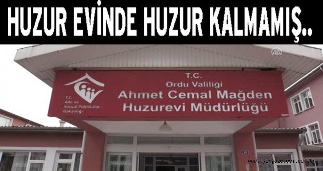 Ahmet Cemal Maden huzur evinde köle muamelesi…