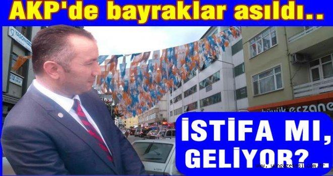 AK Parti il başkanı istifaya mı hazırlanıyor?