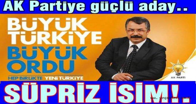 AK Parti il başkanlığına güçlü bir aday geliyor…
