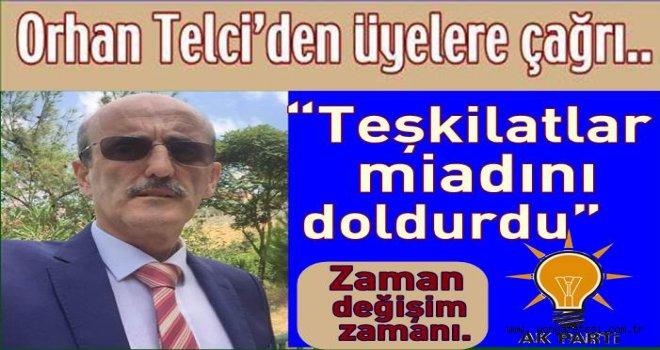 AK PARTİ İLÇE BAŞKAN ADAYINDAN MESAJ VAR..