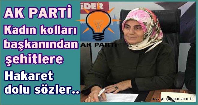 AK Parti kadın kolları başkanından hakaret dolu paylaşım..