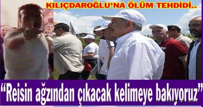 AK Parti Meclis üyesinden Kılıçdaroğlu'na ölüm tehdidi..