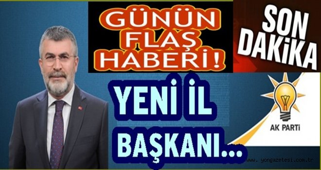 AK Parti ordu il başkanlığına Sait İnan  getiriliyor..
