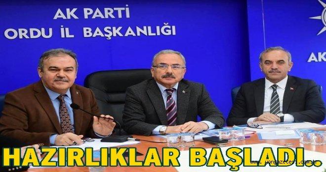 AK Partide adeta seferberlik var..