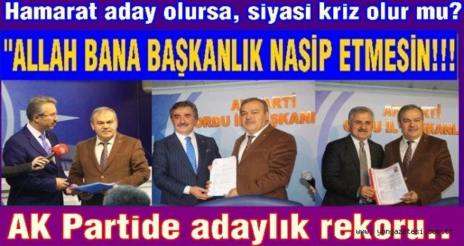 AK Partide şenlik, muhalefette yas var..
