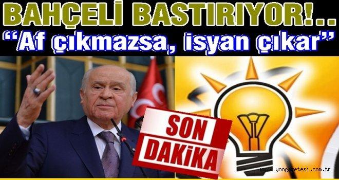 AK Parti'nin af kararı belli oldu..