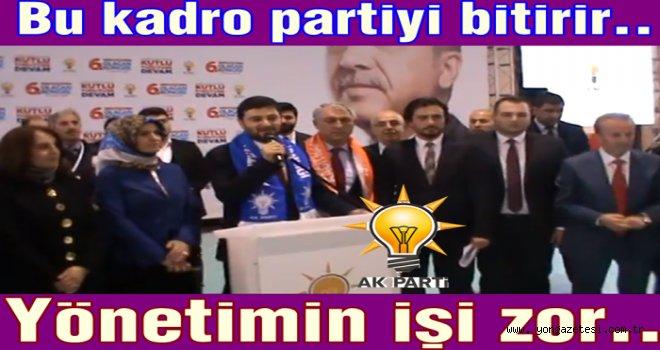 AK Partinin yeni ilçe başkanı Mevlüt Öztekin..