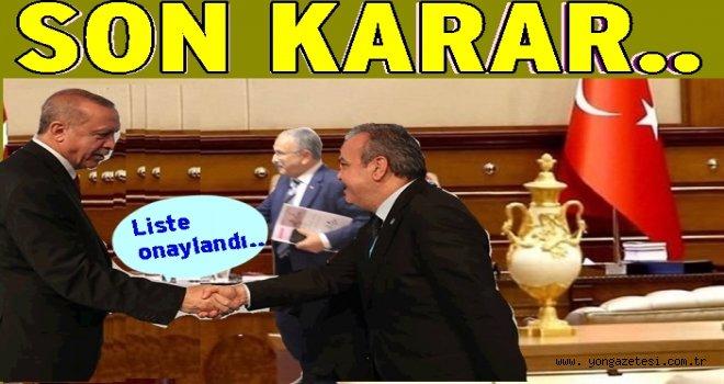 AKP Belediye başkan adayları listesi tamam..
