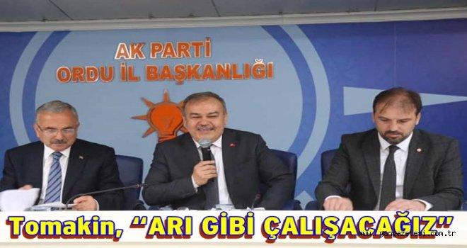 AKP. Büyük Şehir Gurup başkanlarını seçti..