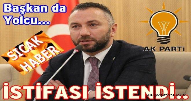 AKP İl başkanı ve yönetiminin istifası istendi..