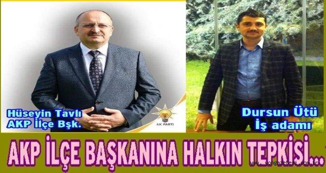 AKP İlçe başkanının FETÖ şüphelisi  ile gezmesine büyük tepki..