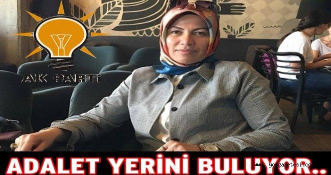 AKP KADIN KOLLARI BAŞKANI İSTİFA ETTİ..