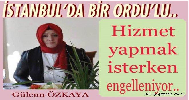 """AKP Meclis üyesi Gülcan Özkaya, """"Her şey Ordu için"""""""