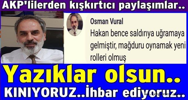 AKP Ordu İl yönetim kurulu üyelerinden kışkırtıcı yorum..