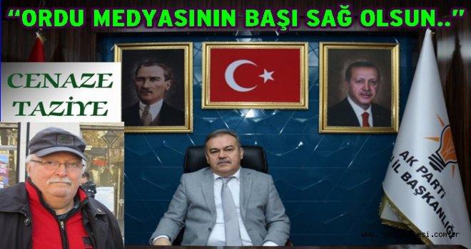 AKP Parti il başkanı Tomakin baş sağlığı mesajı yayınladı..