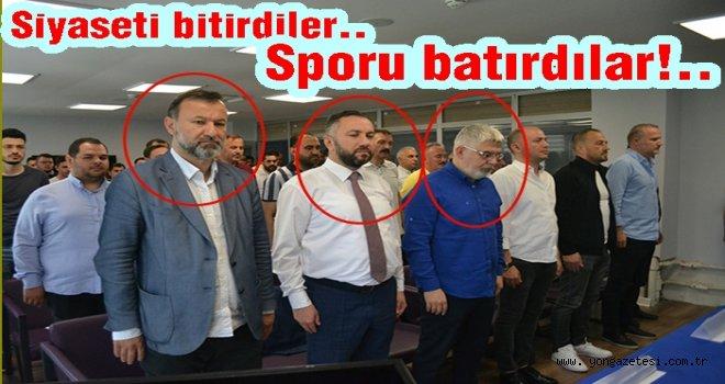 AKP'den kovuldular, Yeni Ordusporu bitirdiler…