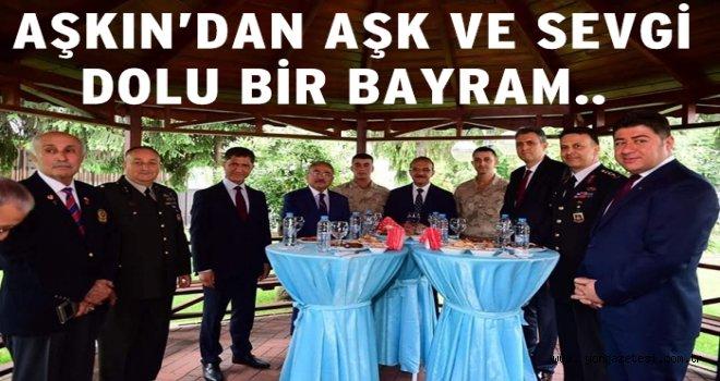 Altınordu Belediye başkanı Aşkın Tören'in bayram ziyaretleri..