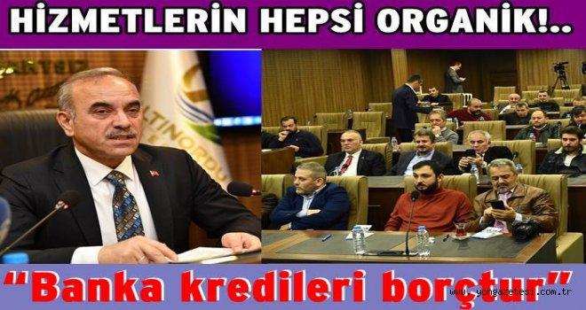 Altınordu Belediye başkanı Tekintaş, 4 yılın hesabını verdi..