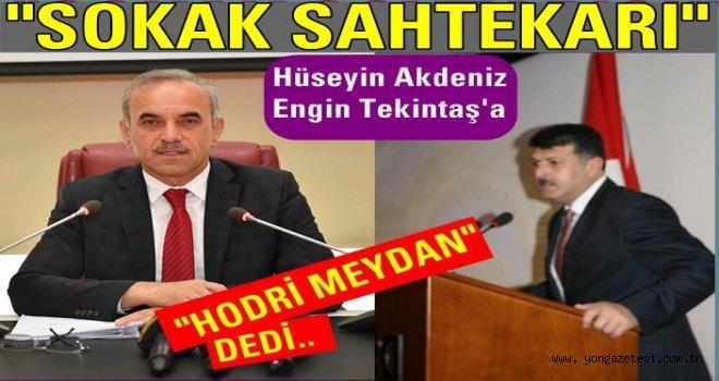 """Altınordu Belediye meclisinde """"SAHTEKAR"""